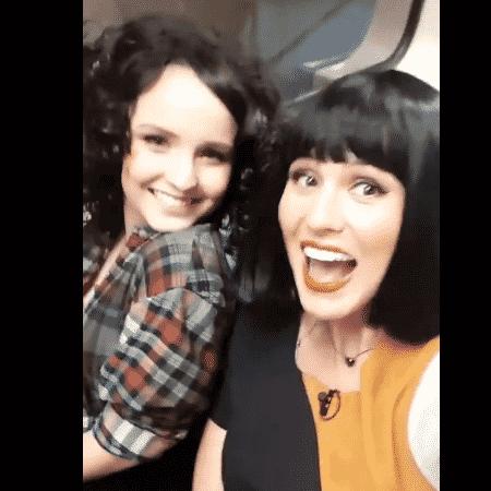 Larissa Manoela e Lívia Andrade - Reprodução/Instagram