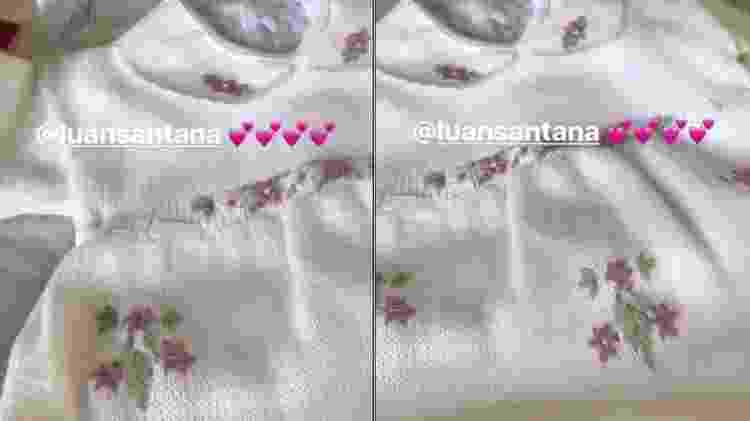 Presente que Luan Santana deu para a filha de Eliana - Reprodução/Instagram - Reprodução/Instagram