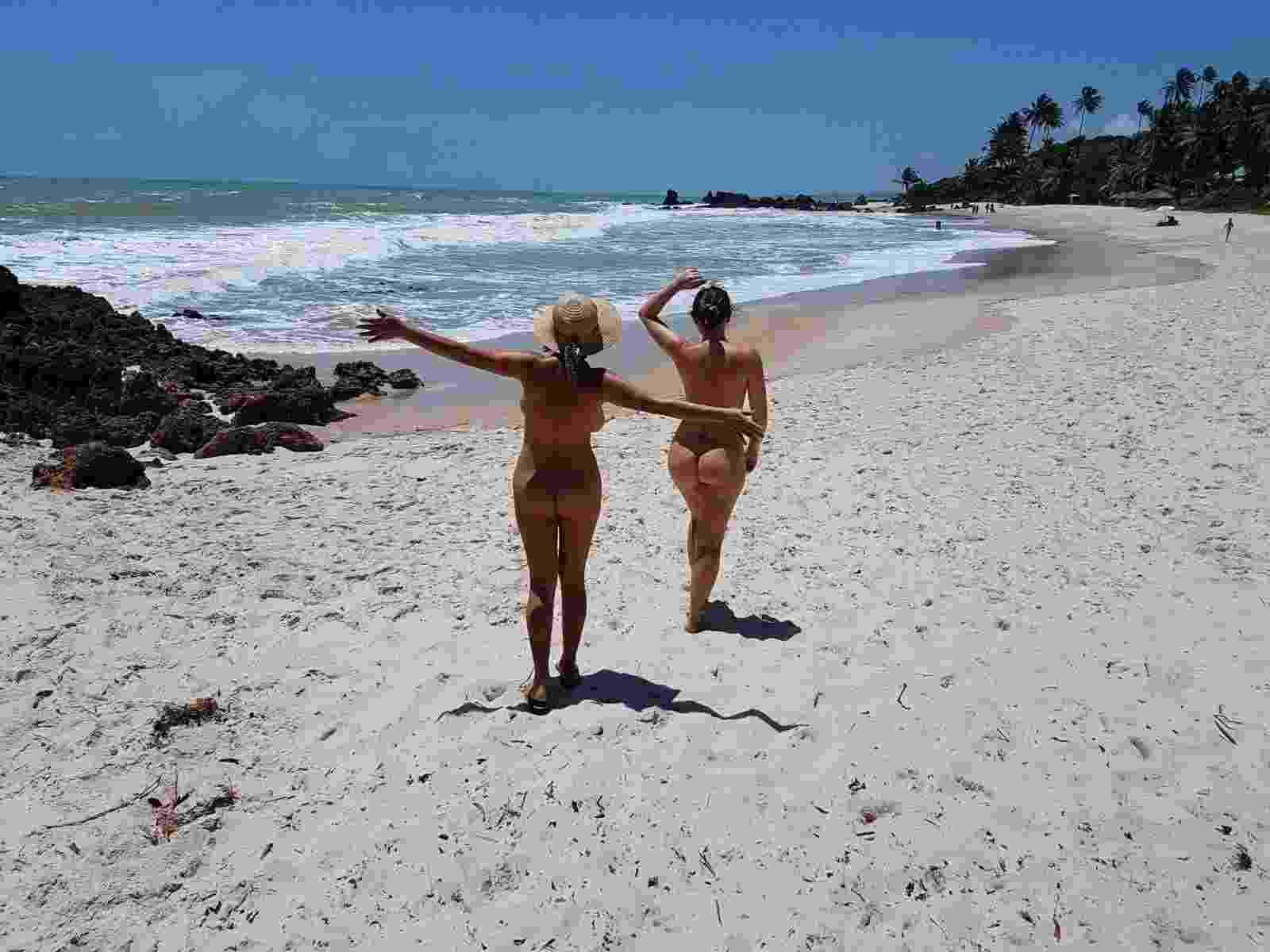 Tambaba (PB) - Tambaba é localizada no município de Conde, 40 quilômetros ao sul de João Pessoa. Para chegar à praia de carro é preciso fazer o acesso pela BR-101 ou pela PB-008, em direção ao município de Conde - Reprodução/Facebook.com/BrasilNaturista