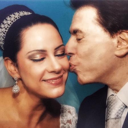Silvia Abravanel parabeniza o pai, Silvio Santos - Reprodução/Instagram/silviaabravanel