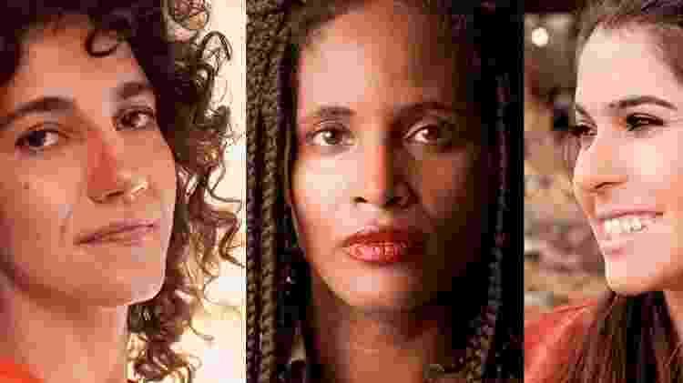 Antonia, Djamila e Nathalia - Reprodução - Reprodução