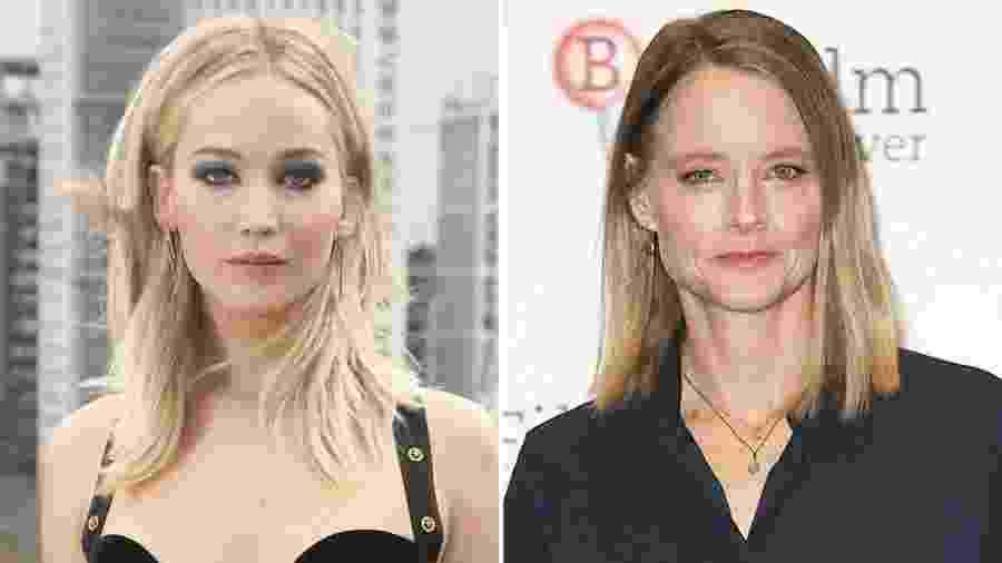 Jennifer Lawrence e Jodie Foster  - Rex Shutterstock/Reprodução