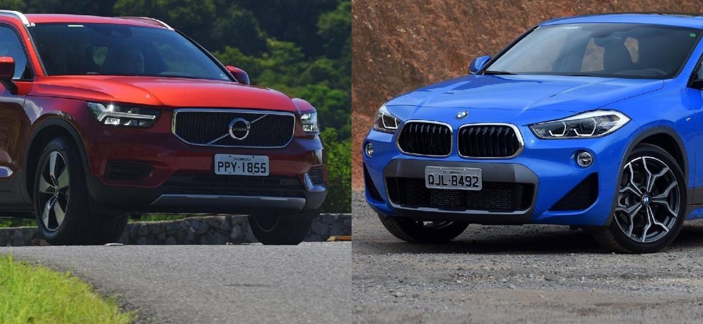X2 e XC40 são bem diferentes no design, mas brigam pelo mesmo consumidor - Murilo Góes/UOL