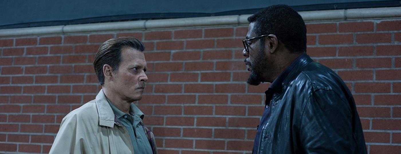 """Johnny Depp e Forest Whitaker em cena de """"City of Lies"""" - Divulgação"""