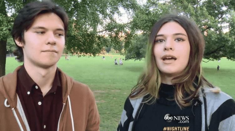 Jonas e Nicole Maines - Reprodução - Reprodução