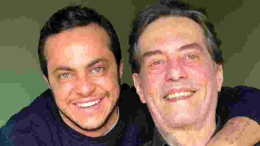 Thammy Miranda com o pai, o delegado Silva Neto - Reprodução/Instagram/thammymiranda