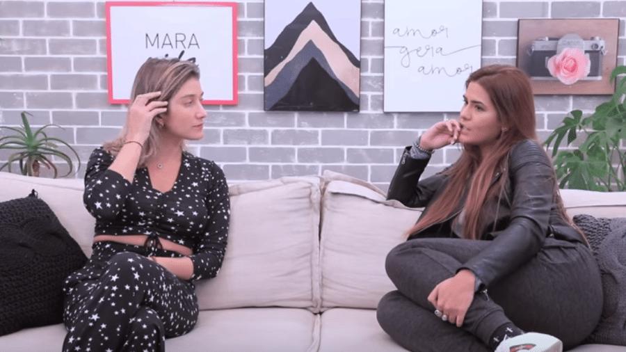 Gabriela Pugliesi entrevista Antonia Morais - Reprodução/YouTube