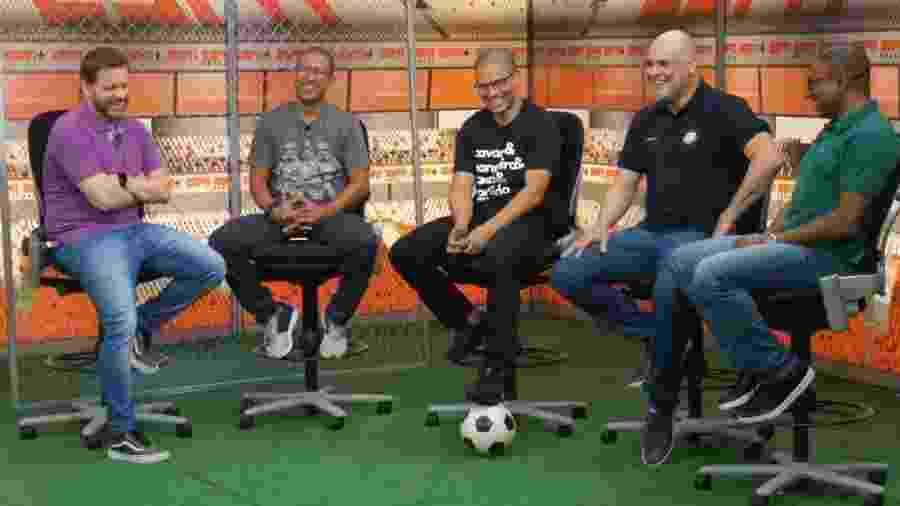 """Ex-goleiro Marcos gravou o """"Resenha"""" da ESPN Brasil - ESPN"""