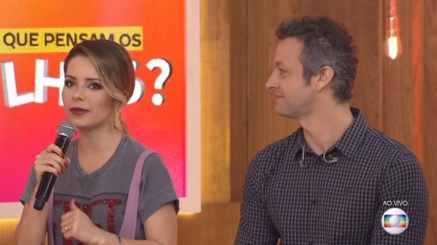 Sandy e Lucas Lima - Reprodução/TV Globo