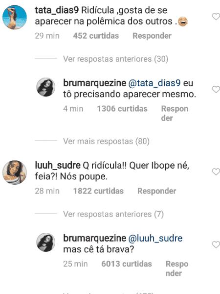 Bruna Marquezine adere campanha contra Silvio Santos e rebate seguidores - Reprodução/Instagram - Reprodução/Instagram