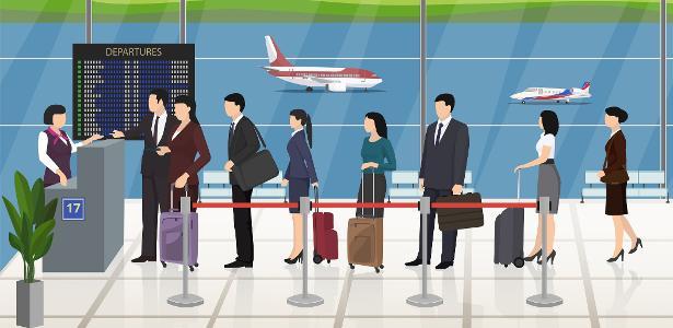 Serviços VIP de recepção ajudam passageiros em aeroportos