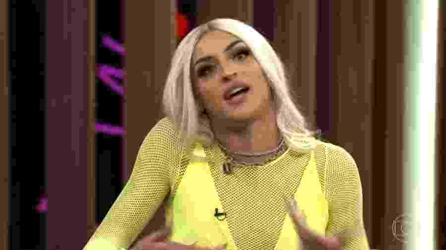 """Pabllo Vittar no """"Conversa com Bial"""" - Reprodução/Globo"""