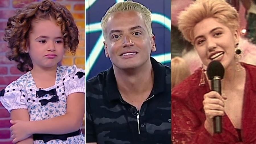 Maisa Silva, Leo Dias e Mariane Dombrova - Montagem/UOL/Reprodução/SBT