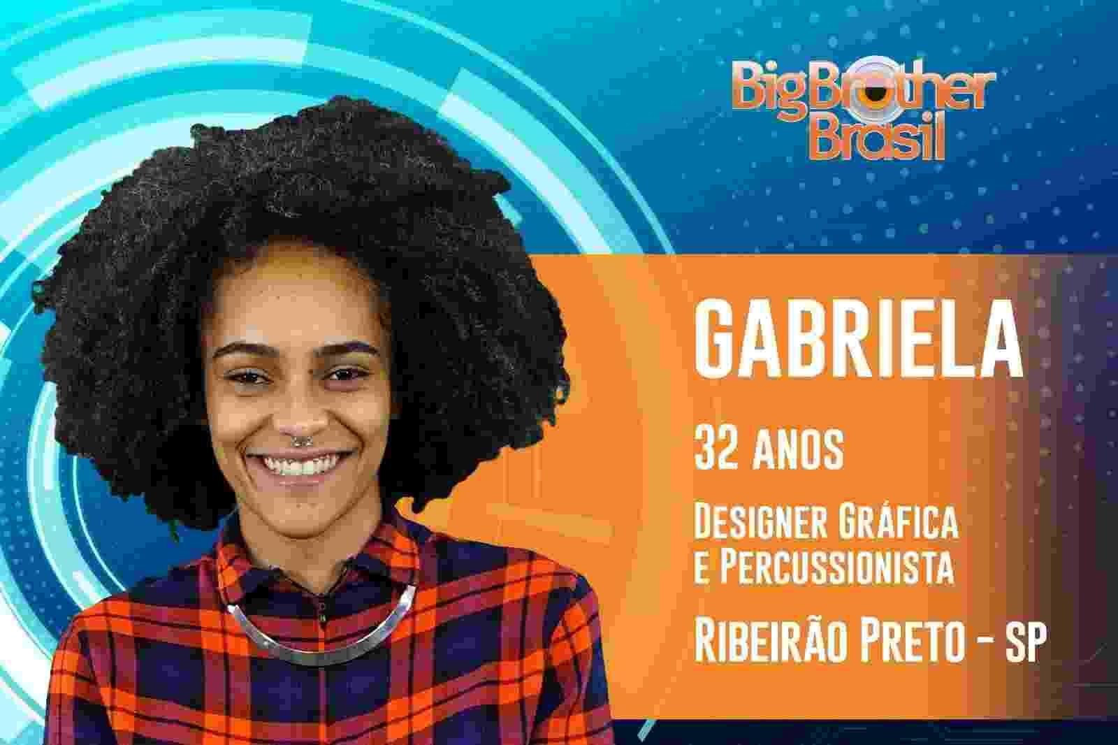 """Gabriela é o sétima participante anunciada do """"BBB19"""" - Reprodução/TvGlobo"""