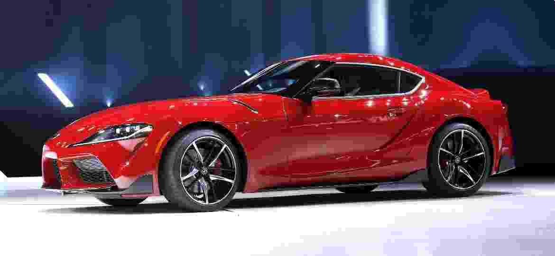 Novo Toyota Supra foi desenvolvido em parceria com a BMW - Bill Pugliano/Getty Images/AFP