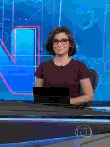 Renata Vasconcellos dá boas vindas a Maju Coutinho - Reprodução/TV Globo