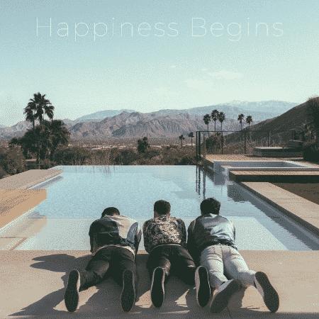 """A capa de """"Happiness Begins"""", álbum dos Jonas Brothers - Reprodução/Instagram"""