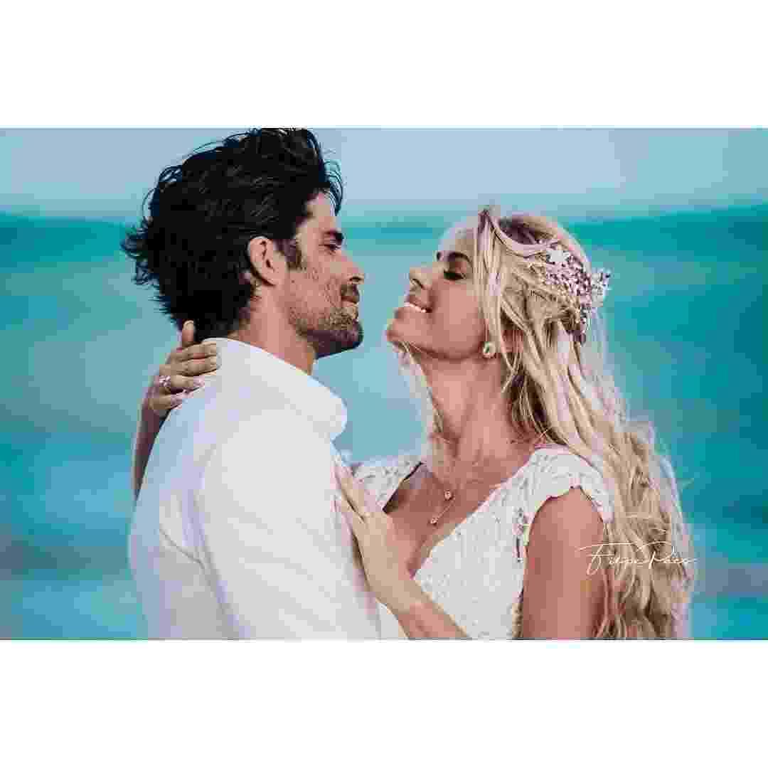 Caroline Bittencourt havia se casado em janeiro com o empresário Jorge Sestini - Reprodução/Instagram