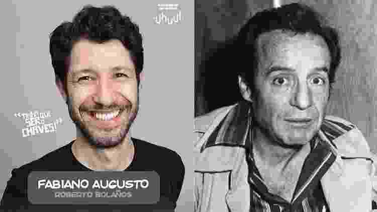 """Fabiano Augusto interpretará Roberto Gómez Bolaños em """"Chaves - Um Tributo Musical"""" - Montagem/UOL - Montagem/UOL"""