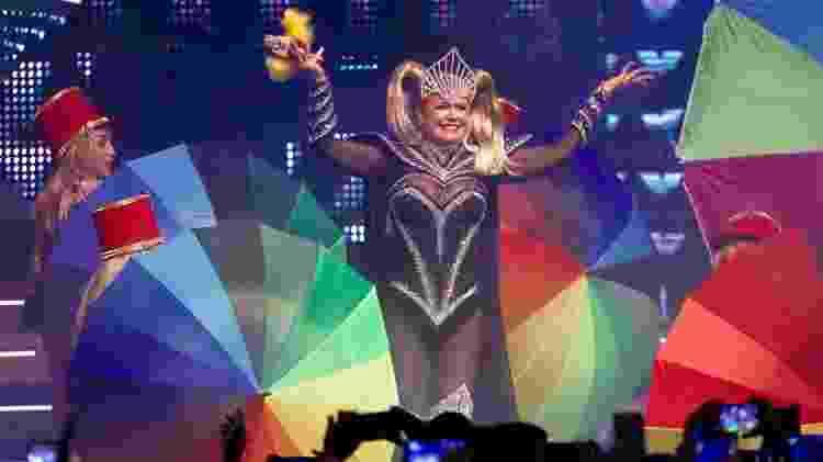 17.ago.2019 - Xuxa apresenta Xuxa Xou no Credicard Hall, em São Paulo - Manuela Scarpa/Brazil News