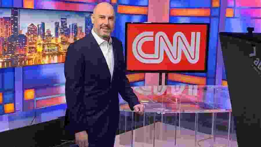 """Douglas Tavolaro, CEO da CNN Brasil, avalia os primeiros cem dias do canal como um período """"muito positivo"""" - Divulgação/CNN Brasil"""