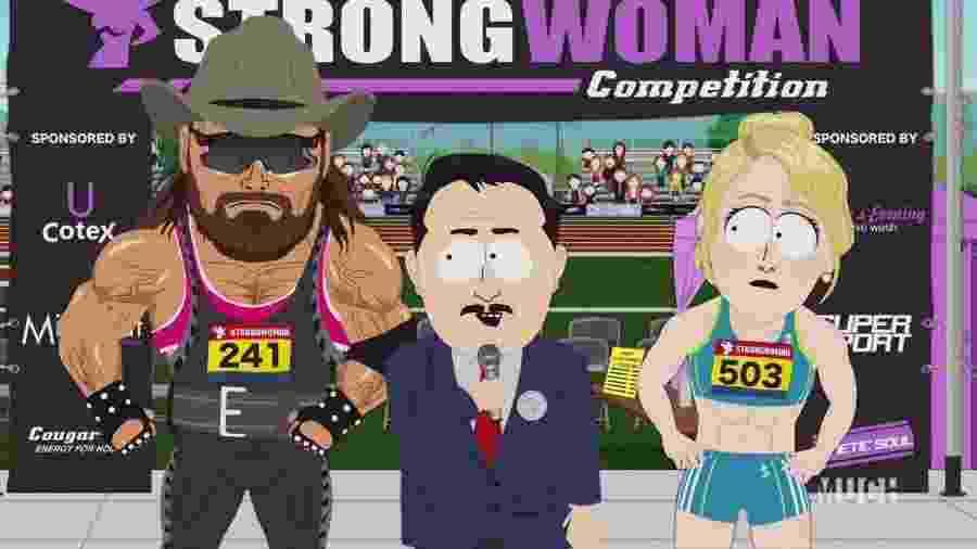 Cena do último episódio de South Park - Reprodução/Twitter