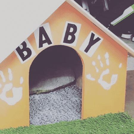 Rodrigo Hilbert constrói casinha de cachorro com os filhos - Reprodução/Instagram/@rodrigohilbert