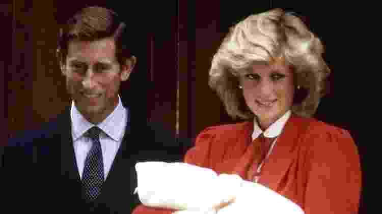 O Príncipe Harry nasceu em 1984, o segundo filho do príncipe e da princesa da Wales - PA Media
