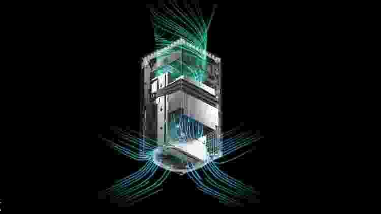 Xbox Series X interno - Reprodução - Reprodução