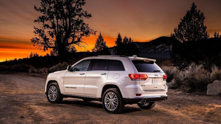 Jeep Grand Cherokee Summit - Divulgação