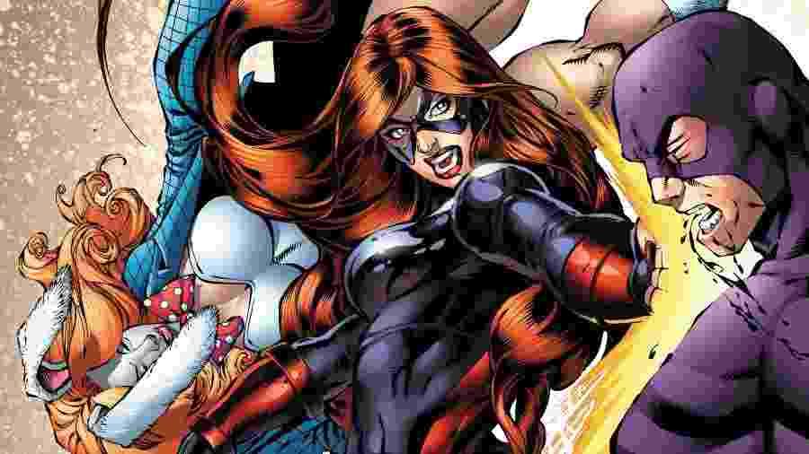 Uma das capas da revista solo da Loteria, heroína da Marvel - Reprodução