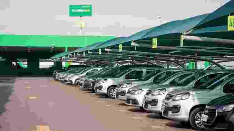 Locadora de carros - Divulgação - Divulgação