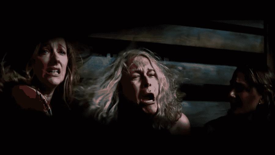 """Cena do teaser de """"Halloween Kills"""" - Reprodução/YouTube"""