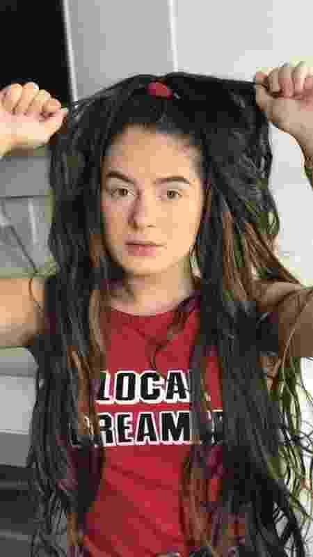 Júlia Rocha cabelão - Arquivo pessoal - Arquivo pessoal