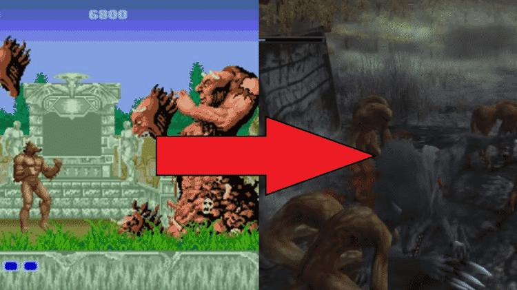 Altered Beast  - Reprodução (Sega) - Reprodução (Sega)
