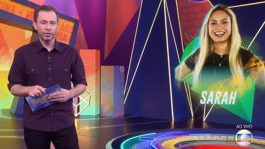 BBB 21: Tiago Leifert fala sobre jogo de Sarah - Reprodução/Rede Globo