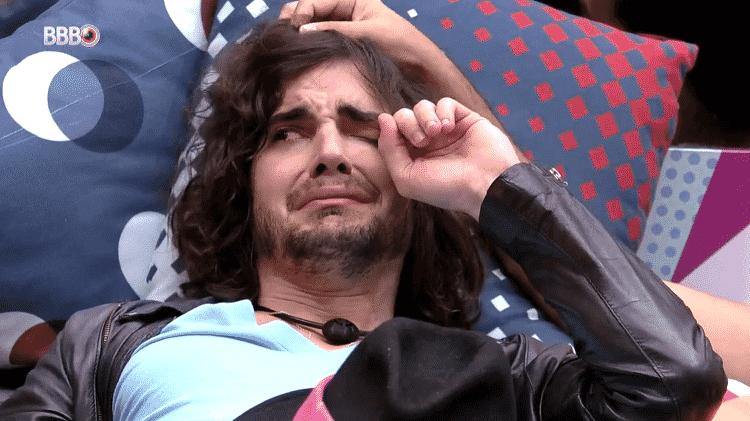 BBB 21: Fiuk chora após a formação do paredão - Reprodução/Globoplay - Reprodução/Globoplay