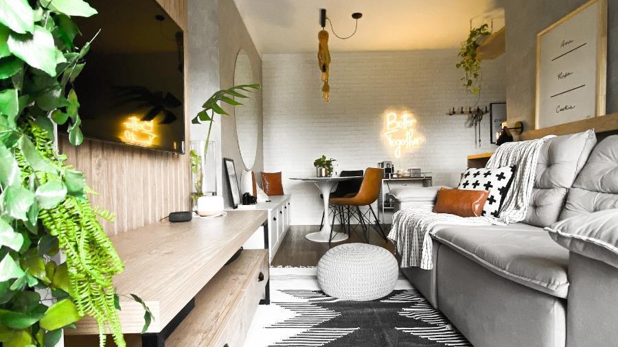 Ana Leite aproveitou a transformação imaginada para o apartamento, com mistura de estilos e simplificação, e hoje compartilha conteúdos sobre o tema no Instagram - Arquivo Pessoal
