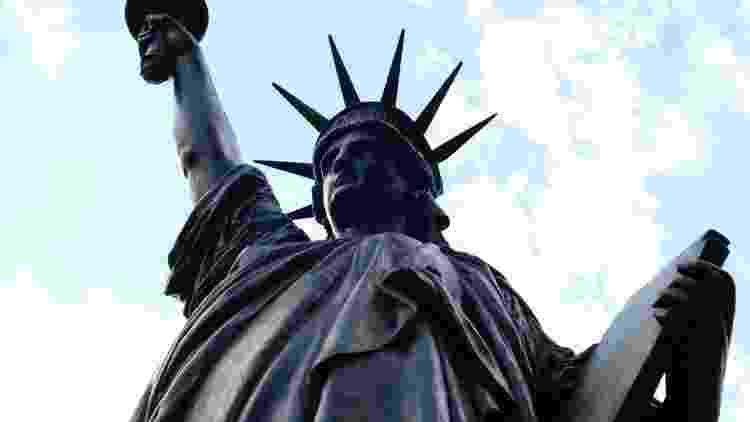 Estátua da Liberdade do Museu de Arts et Métiers  - AFP - AFP