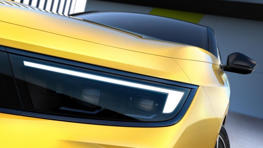 Opel Astra 2022 - Teaser  - Divulgação