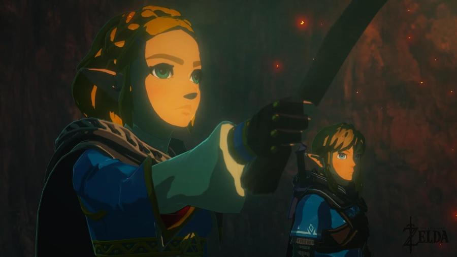The Legend of Zelda BotW - Divulgação/Nintendo
