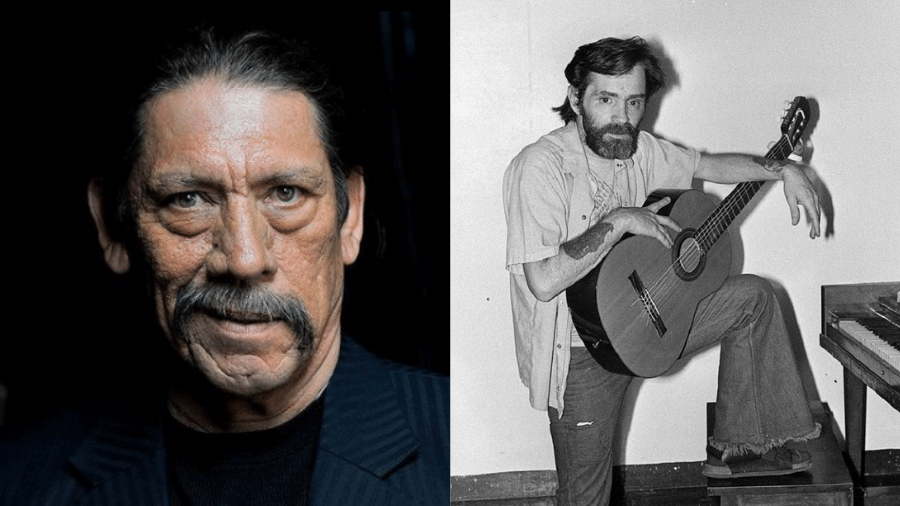 Danny Trejo passou por sessão de hipnose com Charles Manson na prisão - Reprodução/Instagram e Getty Images