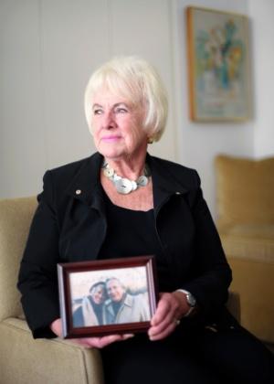 Anne perdeu o marido e o luto fez parte de sua vida por nove anos - Karsten Moran/The New York Times