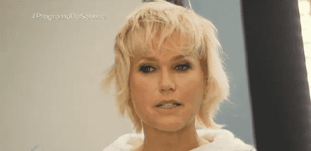 """Xuxa rechaçou a ideia de ser chamada de """"cantora"""", mesmo após ter vendido milhões de discos - Reprodução/TV Record"""