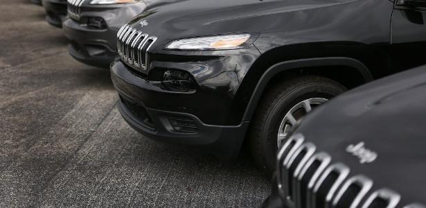 Novo Jeep ficará entre Renegade e Cherokee (foto), inclusive no estilo - Joe Raedle/Getty Images/AFP
