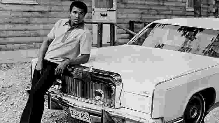 Muhammad Ali Lincoln Continental 1972 - Reprodução - Reprodução