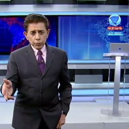 """Herodoto Barbeiro no """"Jornal da Record News"""" - Reprodução/Record News"""