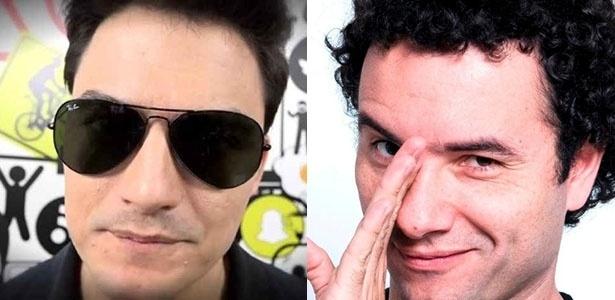 Felipe Neto e Marco Luque ganharão especiais na Netflix - Montagem UOL