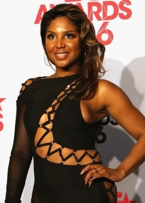 """A cantora americana Toni Braxton, famosa pelo sucesso """"Un-Break My Heart"""""""