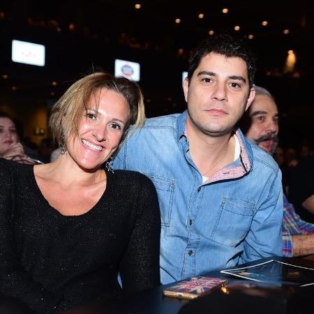 Evaristo Costa e a mulher, Amalia Stringhini - Leo Franco/AgNews